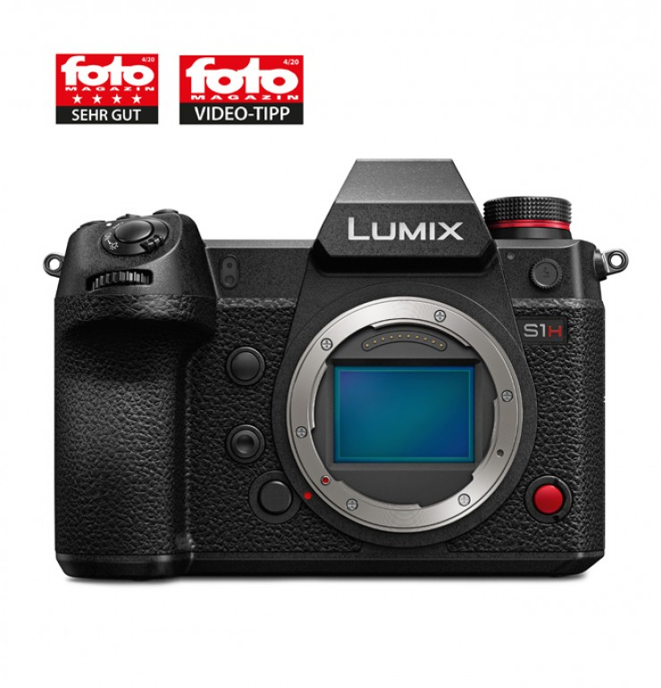Panasonic Lumix S1H im Test