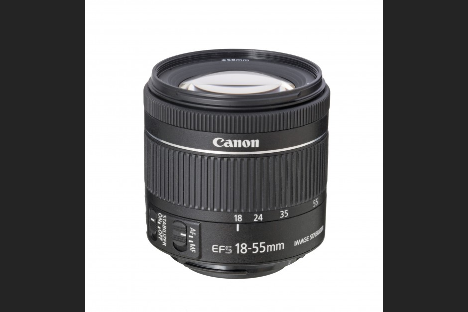 Canon EF-S 4-5,6/18-55 mm IS STM