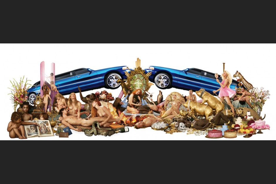 """LaChapelle-Motiv """"Decadence: the insufficiency of all things attainable"""", 2008"""