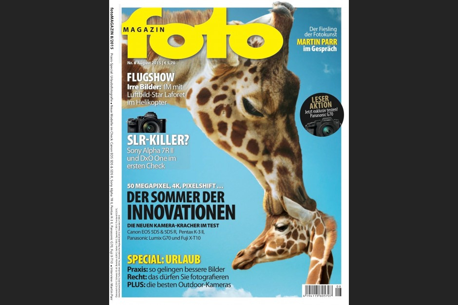 fotoMAGAZIN Cover im August 2015