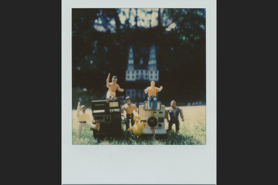 Polaroid SX-70: Action-Figuren