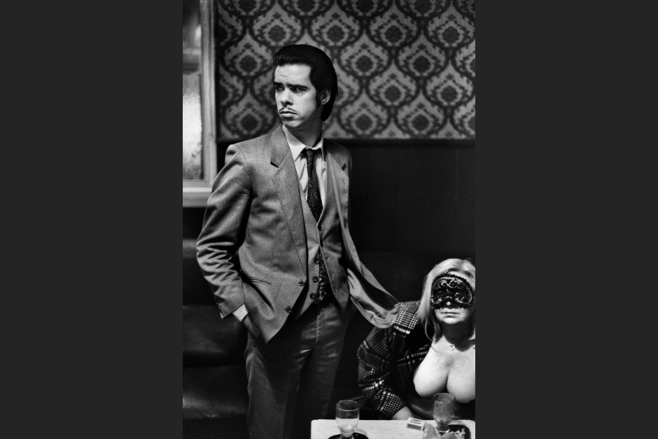 Nick Cave 1988 in London