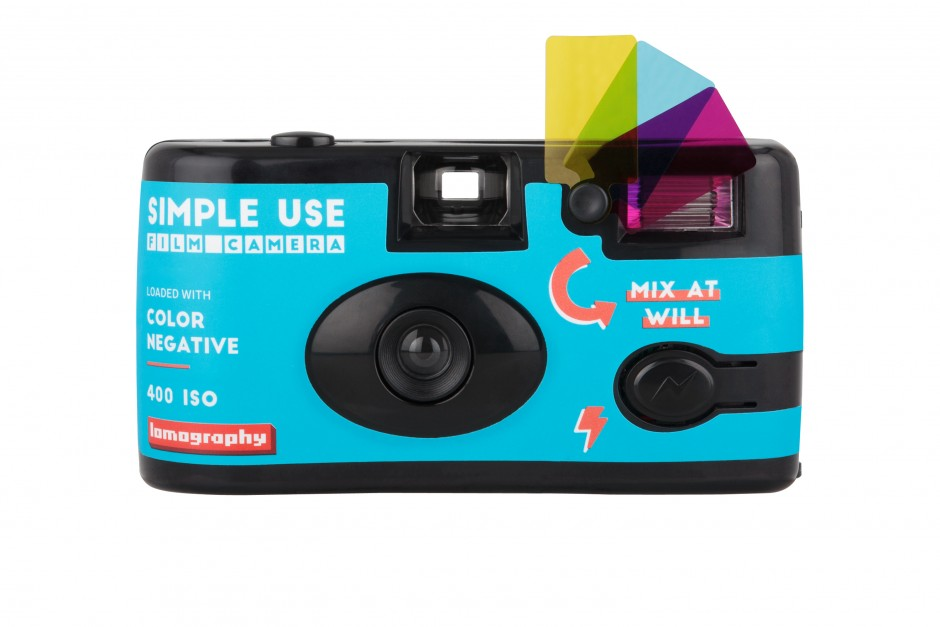 Lomography Simple Use Film Camera: Color Negative Front
