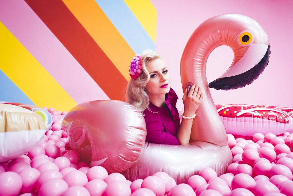 Supercandy Pop-Up Museum_Flamingo