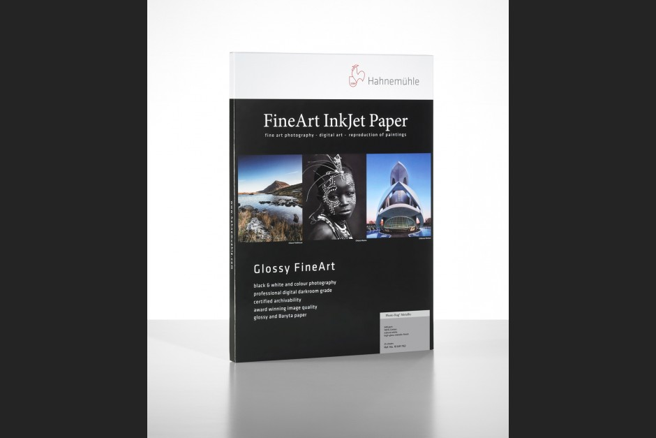 Hahnemühle Photo Rag Metallic Packshot