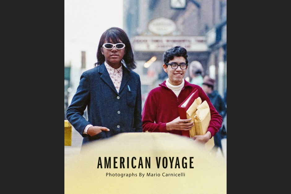 """Cover """"American Voyage"""""""