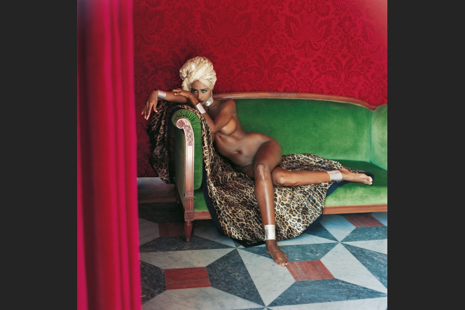 Iman, American Vogue, Hotel Negresco, Nice, 1989