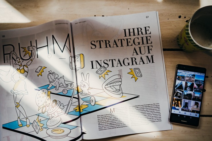 STRATEGIE FÜR INSTAGRAM von Kristina Kobilke im SMART SHOT Magazin 1/2017