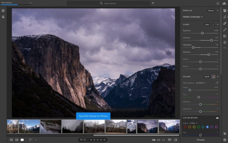 Lightroom CC 1.4