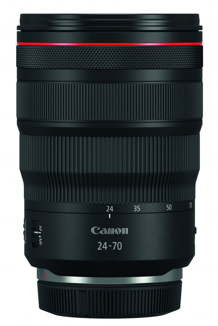 Canon RF 2,8/15-35 mm L IS USM, 2,8/24-70 mm L IS USM, Objektiv, Zoom, Autofokus, spiegellos, 2019, Superweitwinkel, Weitwinkel, Vollformat, EOS RP, lens