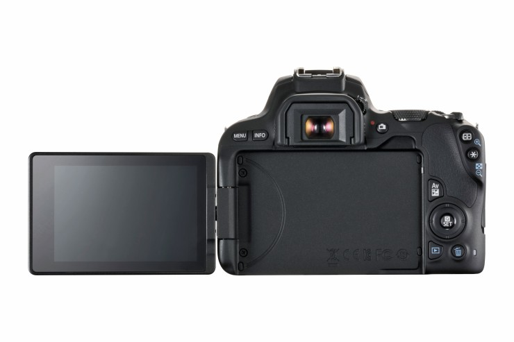 EOS 200D back