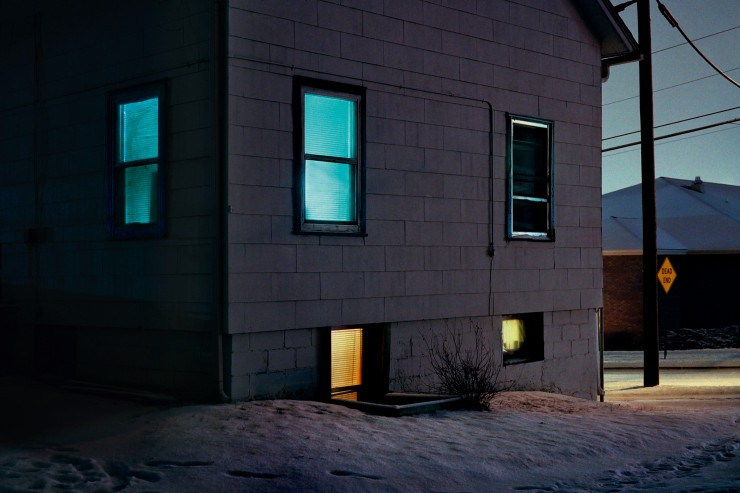 """""""House at Night"""" (2010) aus der Serie """"Redheaded Peckerwood"""", Christian Patterson"""