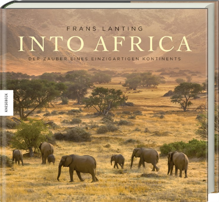 "Buch-Cover ""Into Africa"""