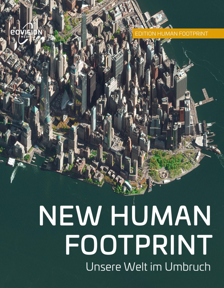 Buchcover New Human Footprint