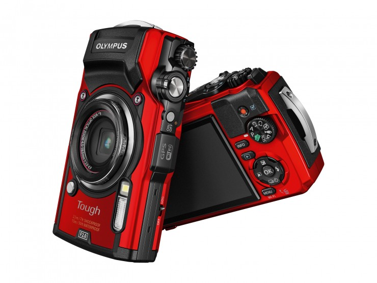 Olympus Tough TG-5 front back