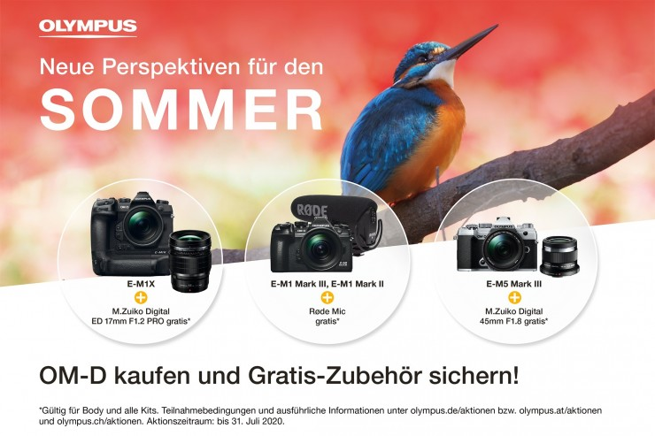 Olympus Sommer-Promotion.