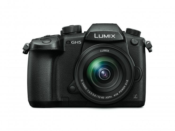 Panasonic Lumix GH5 frontal