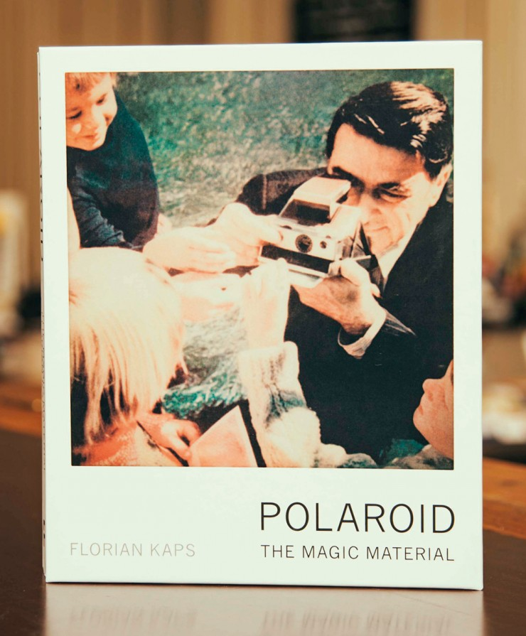 "Buch-Cover ""Polaroid. The Magic Material"""