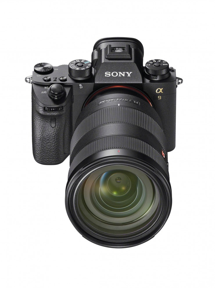 Sony Alpha 9 frontal
