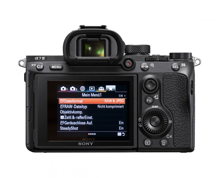 Sony Alpha 7 III back