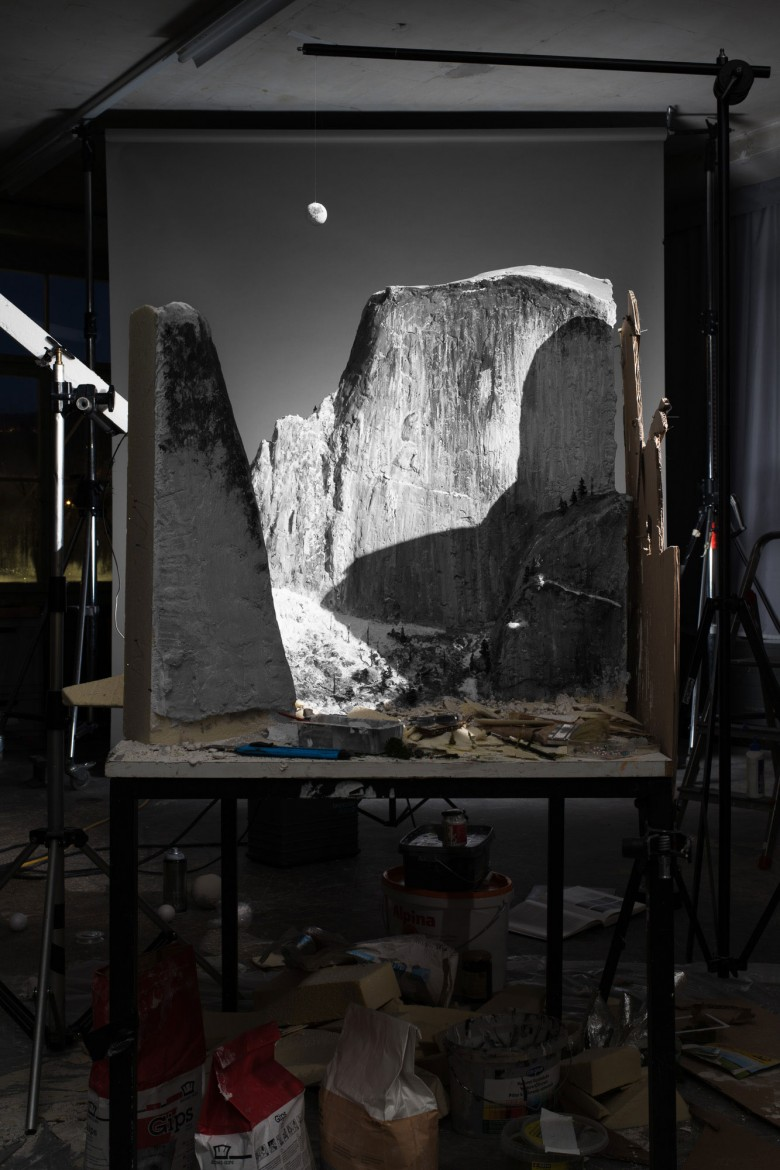 "Making of ""Moon and Half Dome"" von Cortis und Sonderegger"
