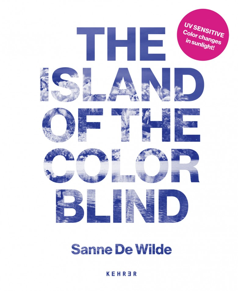 """Buch-Cover """"The Island of the Color Blind"""""""