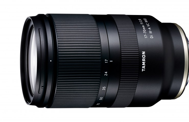 Tamron 2,8/17-70 mm Di III-A2 VC RXD (Modell B070), Tamron 17-70mm F/2.8 Di III-A2 VC RXD (Modell B070), Objektiv, Autofokus, 2020, Teleobjektiv, Weitwinkel, lens, Sony E, ILCE-E
