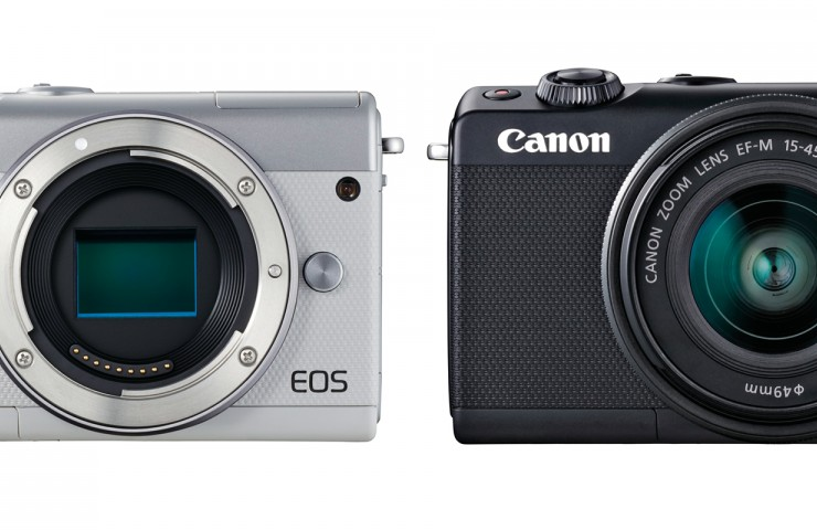 Canon EOS 100M front