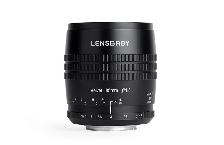 Lensbaby Velvet 85 mm Porträt Makro Objektiv Canon Nikon Powered4YOU