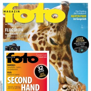 fotoMAGAZIN August 2015 mit Second Hand Guide 2015 und Reisespecial