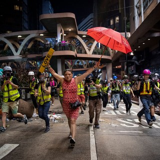 "Die Story ""Hong Kong Unrest"" ist beim World Press Photo Contest unter den Nominierten"