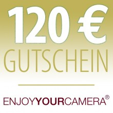 2. Platz Editors Choice Gutschein über 120 Euro Enjoy Your Camera